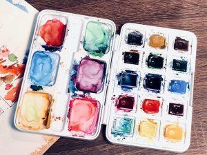Farbe für Aquarellmalen für Anfänger