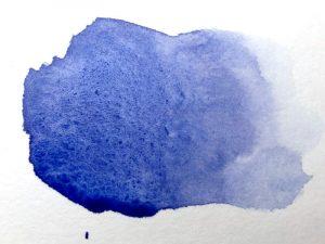 Aquarellfarbe Granulierend